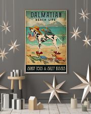 Turtle Beach Life Dalmatian 11x17 Poster lifestyle-holiday-poster-1