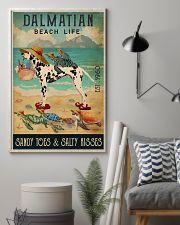 Turtle Beach Life Dalmatian 11x17 Poster lifestyle-poster-1
