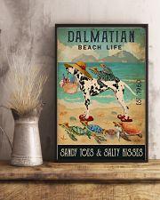 Turtle Beach Life Dalmatian 11x17 Poster lifestyle-poster-3