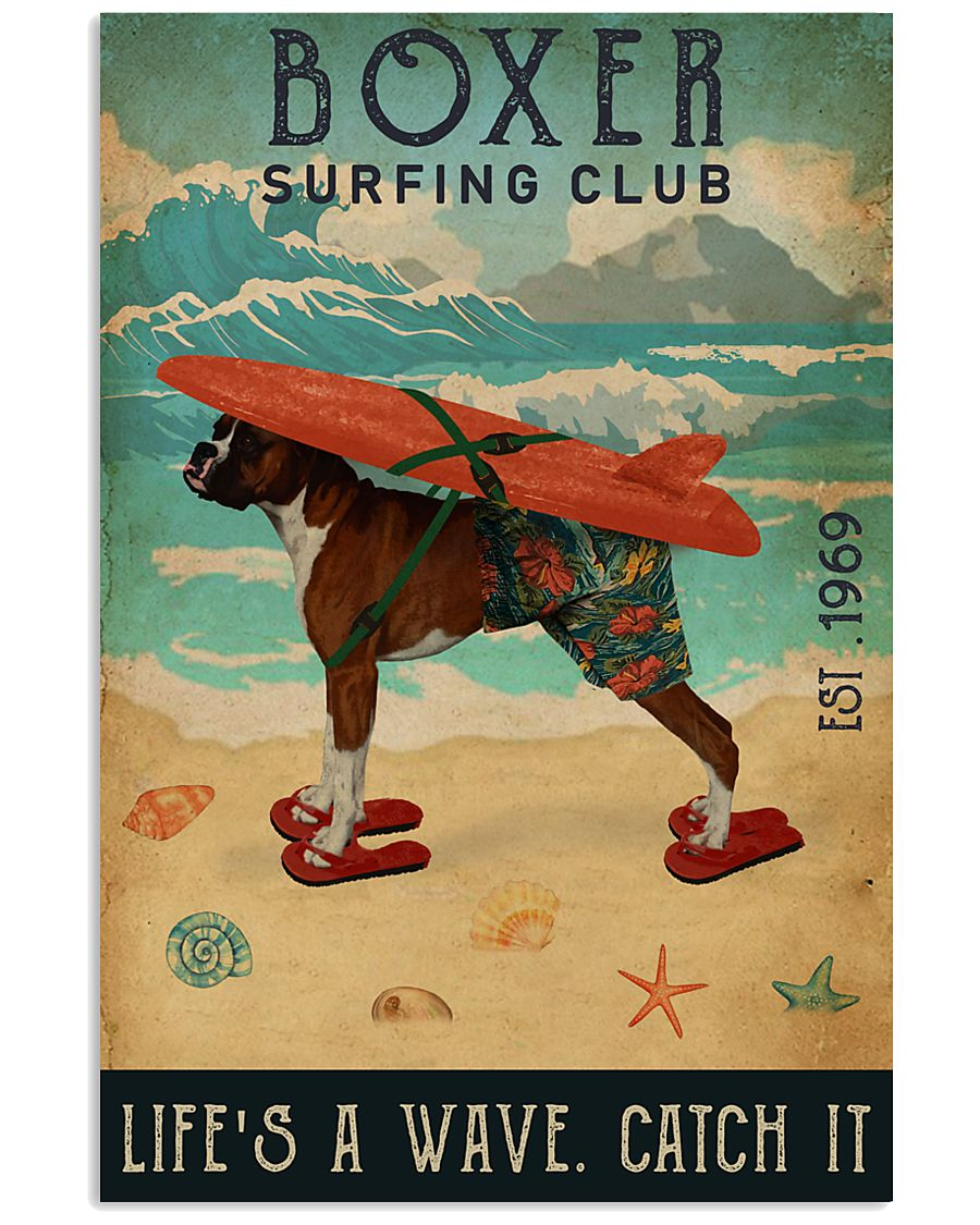 Surfing Club Boxer 16x24 Poster