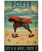 Surfing Club Boxer 16x24 Poster front