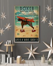 Surfing Club Boxer 16x24 Poster lifestyle-holiday-poster-1