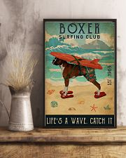 Surfing Club Boxer 16x24 Poster lifestyle-poster-3