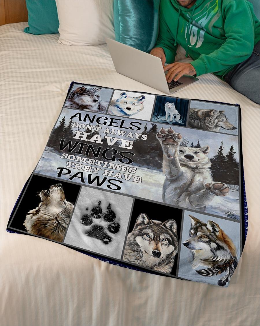 Snow Paws Fleece Blanket
