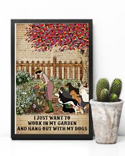 Dictionary Work In My Garden Dogs 11x17 Poster lifestyle-poster-8
