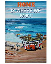 Home Is Where We Park It Surfing 16x24 Poster front