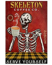Skeleton Coffee Company 16x24 Poster front