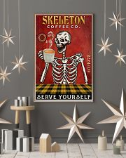 Skeleton Coffee Company 16x24 Poster lifestyle-holiday-poster-1