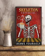 Skeleton Coffee Company 16x24 Poster lifestyle-poster-3