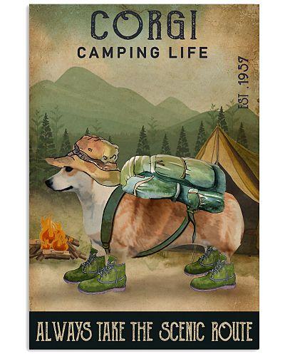 Camping Life Scenic Route Corgi