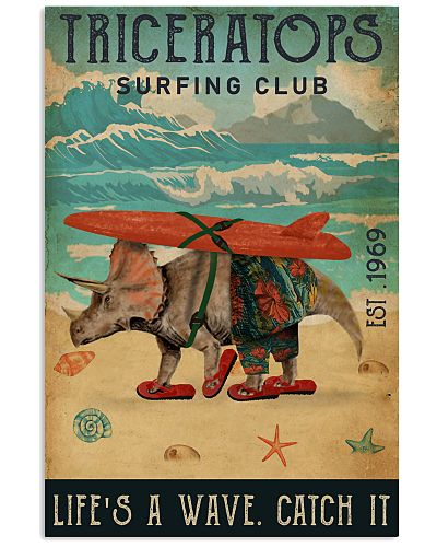 Surfing Club Triceratops
