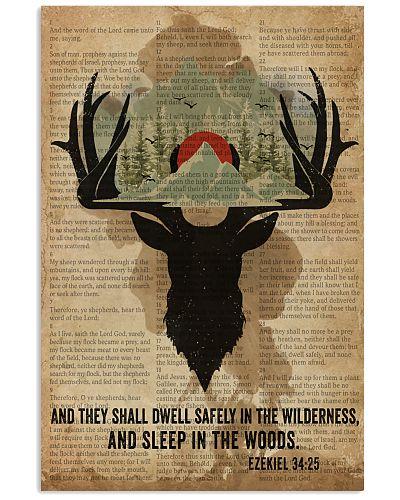 Sleep In The Woods Deer Camping
