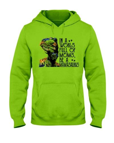 Be A Mamasaurus Watercolor
