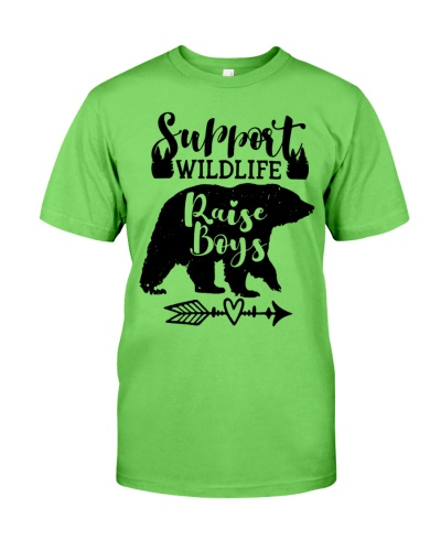 Support Wildlife Raise Boys Wildlife
