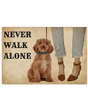 Heels Never Walk Alone Poodle 17x11 Poster front