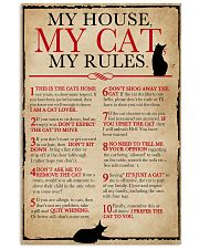 My House My Cat My Rules 16x24 Poster front