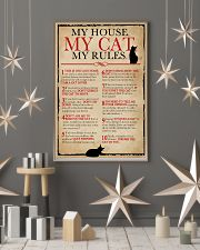 My House My Cat My Rules 16x24 Poster lifestyle-holiday-poster-1