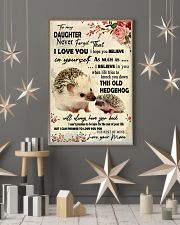 Never Forget That I Love You Hedgehog Mother 11x17 Poster lifestyle-holiday-poster-1