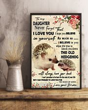 Never Forget That I Love You Hedgehog Mother 11x17 Poster lifestyle-poster-3