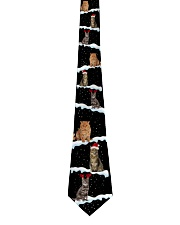 Christmas Snow Cats Tie front