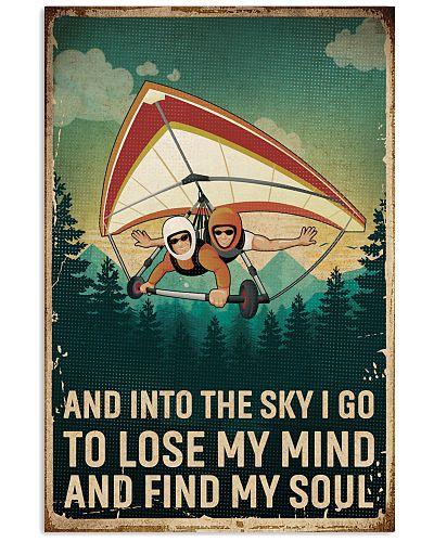 Retro Sky Find My Soul Hang Gliding
