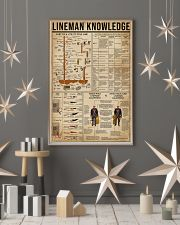 Lineman Knowledge 16x24 Poster lifestyle-holiday-poster-1