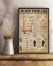 Lineman Knowledge 16x24 Poster lifestyle-poster-3