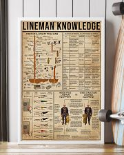 Lineman Knowledge 16x24 Poster lifestyle-poster-4