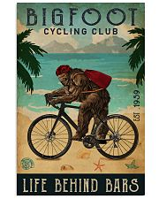 Cycling Club Bigfoot 11x17 Poster front