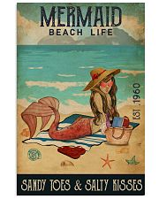 Beach Life Mermaid 11x17 Poster front
