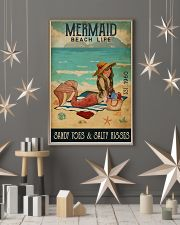 Beach Life Mermaid 11x17 Poster lifestyle-holiday-poster-1