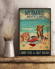 Beach Life Mermaid 11x17 Poster lifestyle-poster-3