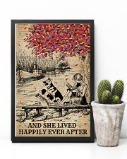 Dictionary Lived Happily Dogs And Books 11x17 Poster lifestyle-poster-8