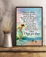 Sea Turtle Girl Beach I Hope You Small 11x17 Poster lifestyle-poster-3