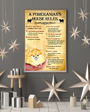 Pomeranian House Rules 11x17 Poster lifestyle-holiday-poster-1