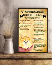 Pomeranian House Rules 11x17 Poster lifestyle-poster-3