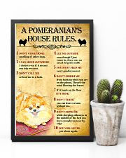 Pomeranian House Rules 11x17 Poster lifestyle-poster-8