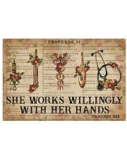 Catchphrase Works Willingly With Her Hand Nurse 17x11 Poster front