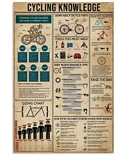 Knowledge Cycling 11x17 Poster front
