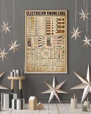 Knowledge Electrician 16x24 Poster lifestyle-holiday-poster-1