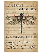 Music Sheet This Is Me Dragonfly 11x17 Poster front