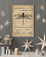 Music Sheet This Is Me Dragonfly 11x17 Poster lifestyle-holiday-poster-1