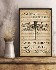 Music Sheet This Is Me Dragonfly 11x17 Poster lifestyle-poster-3