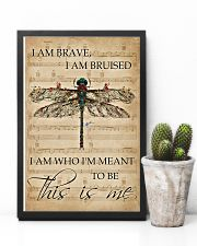 Music Sheet This Is Me Dragonfly 11x17 Poster lifestyle-poster-8