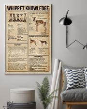 Whippet Knowledge 11x17 Poster lifestyle-poster-1