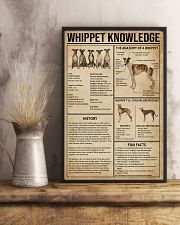 Whippet Knowledge 11x17 Poster lifestyle-poster-3