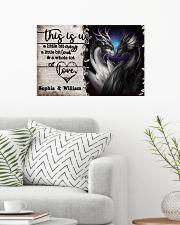 Personalize Dragon A Little Bit Of 24x16 Poster poster-landscape-24x16-lifestyle-01