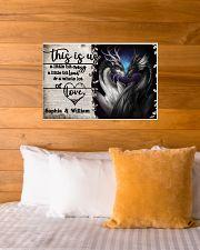 Personalize Dragon A Little Bit Of 24x16 Poster poster-landscape-24x16-lifestyle-27