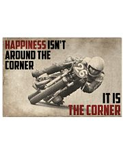 Motorcycles Happiness 24x16 Poster front
