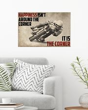 Motorcycles Happiness 24x16 Poster poster-landscape-24x16-lifestyle-01